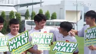 Xuân Trường hóa soái ca, Công Phượng đầu nấm đóng quảng cáo sữa cùng ĐT Việt Nam