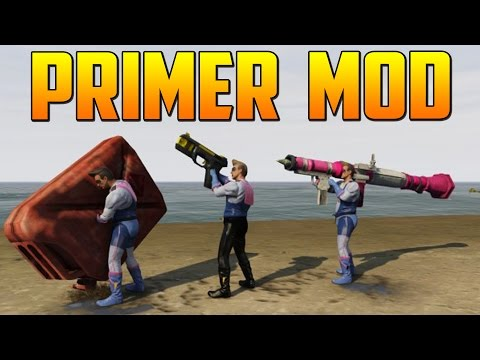 ¡¡PRIMER MOD GTA V PC Gameplay GTA 5 Online PS4