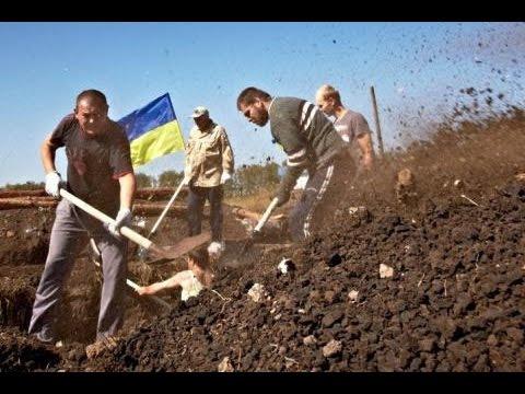 ЖЕСТЬ! СМОТРЕТЬ ВСЕМ! Украинское Безумие - Проект ' СТЕНА '! Украина 2014 mp4