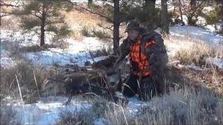 Eastern Montana Mule Deer Hunting Presented by The East/West Connection.wmv