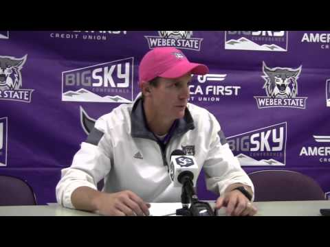 Weber State vs. North Dakota Football Post Game