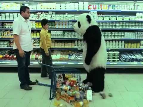 Tv ad for Panda cheese: