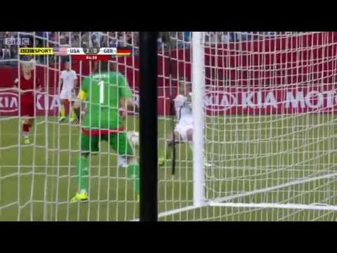 USWNT Germany 2015 Women's World Cup Full Game BBC Semifinal USA