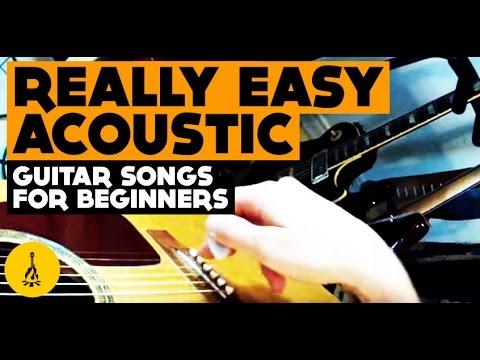 Really Easy Acoustic Guitar Songs For Beginners | Very Cool Riffs + Easiest, Best Songs!