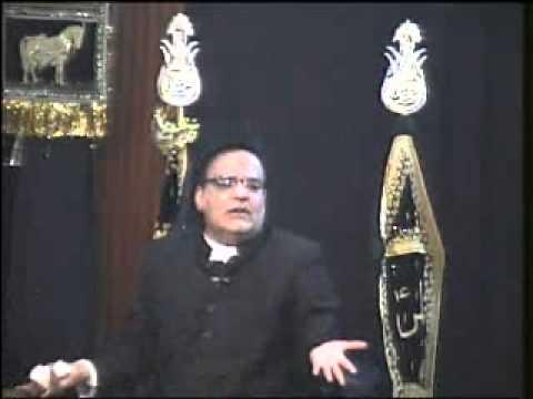 Majlis In Urdu At Iec Husaini Chicago 1-10-12 Azadari 2012 1433 Maulana Abid Bilgrami video