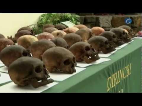 Ciento ochenta calaveras usadas en sesiones espiritistas