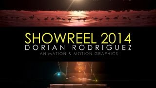 Animation & Motion Graphics Showreel 2014 - Dorian Rodríguez