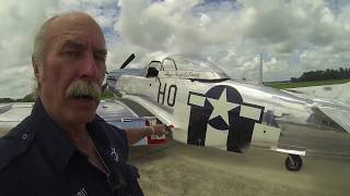 P-51D Mustang - Part 1 / Walkaround Tour - Kermie Cam