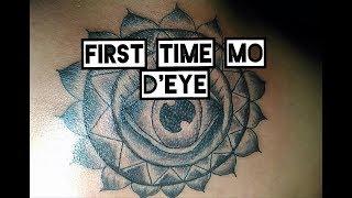 First time mo eye tattoo