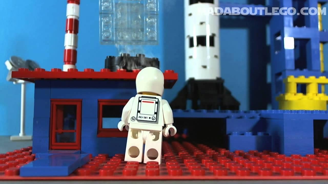 LEGO SPACE ROCKET 358 YouTube