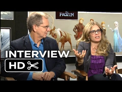 Frozen Interview 2 - Chris Buck & Jennifer Lee (2013) Disney Animated Movie HD