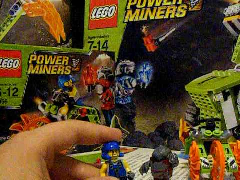 Lego Power Miners Stone Chopper review (discontinued set)