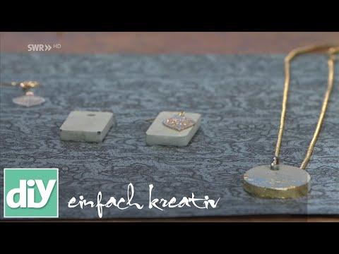 Beton-Schmuck | DIY einfach kreativ