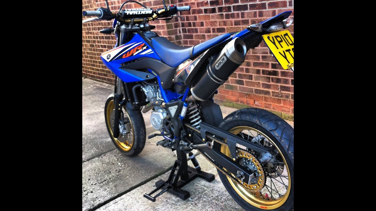 yamaha wr 125x with full arrow exhaust more mods and. Black Bedroom Furniture Sets. Home Design Ideas