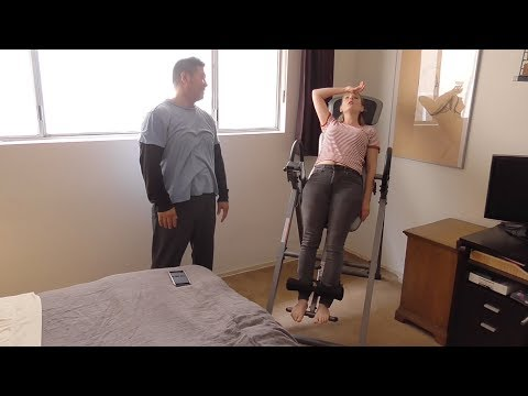 Rubbish or Rad - Inversion Tables! (Innova ITX9600 Heavy Duty Inversion Therapy Table)