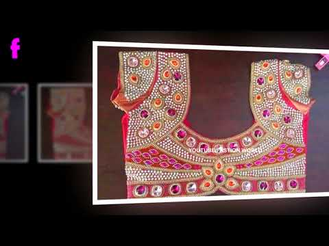2018 Superb Blouse Designs | 2019 BLOUSE DESIGNS | Fashion World | Indian Fashion