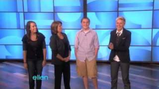 The Wisdom Teeth Siblings Meet Ellen(09/17/10)