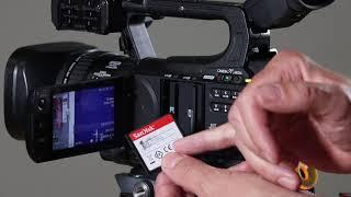 Canon XF100 Intro and basics