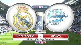 👑 Real Madrid vs Deportivo Alaves ⚽ LIVE STREAM HD 24/02/2018 - Live Stats + 2nd Half Audio Englsih