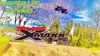 TRAXXAS 8S X-MAXX -EVERYDAY RC BASHING-SLO MO AIR