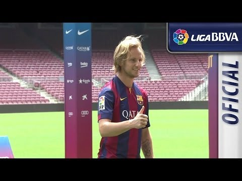 FC Barcelona presents Ivan Rakitic