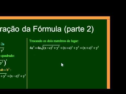 Matemática - Aula 62 - Geometria Analítica - Elipse - Parte 1