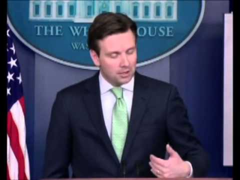 WH Press Josh Earnest Taliban 'Tactics Akin To Terrorism'