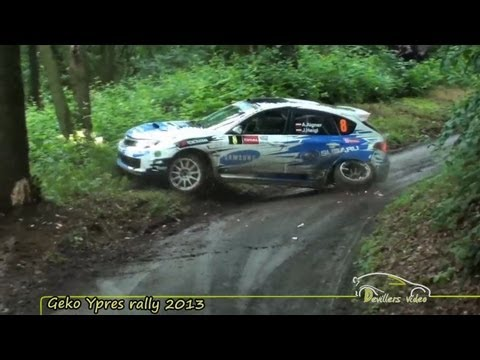 Geko Ypres rally 2013 |Crashes| [HD-Pure sound] By Devillersvideo