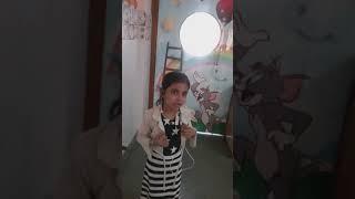 """Sindhi Nursery Rhymes Competition Sadhwani Rishkia Mithu reciting poem """"Bandarmal jee chattey"""""""