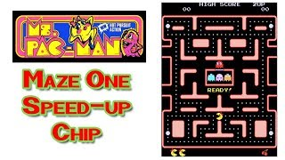 Ms. Pac-Man Level One with a Speed Up Chip Installed in my Arcade Machine