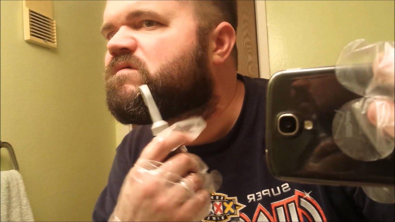 Just For Men Hair Dye On My Beard Youtube