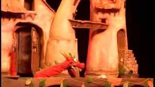 Dragoncio. Titiriteros de Binéfar. Presentación 33 edición Festival de Almagro.