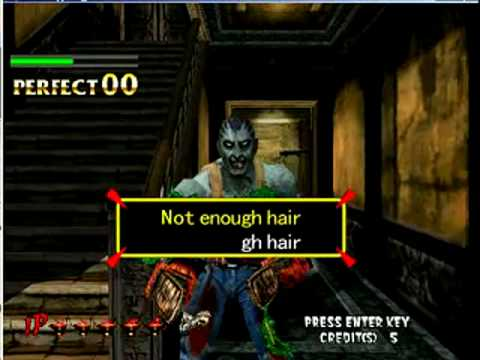 Typing Of The Dead - Not Enough Hair