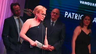 Patricia Arquette remembers sister Alexis at 28th annual GLAAD Media Awards