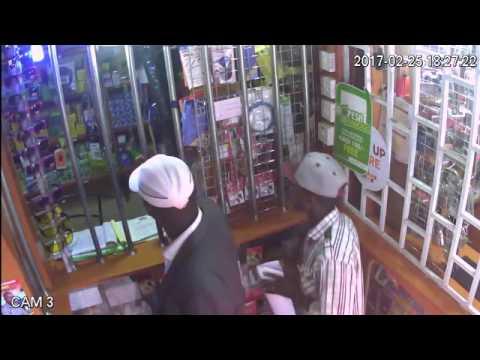 Mpesa Thieves caught live on Camera  Kahawa Sukari