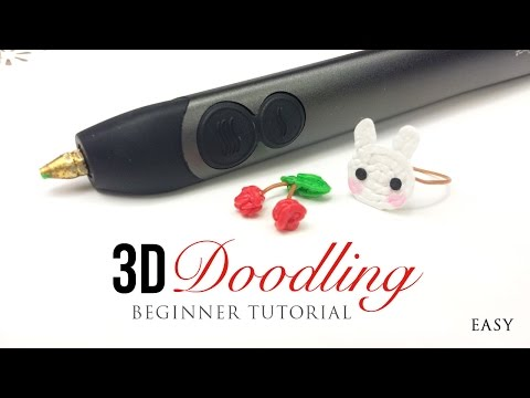 3Doodler 2.0 Tutorial - Easy Guide for Beginners on DIY 3D Printing Pen!