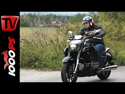 Honda Gold Wing F6C Testvideo 2014   Sechszylinder-Boxer