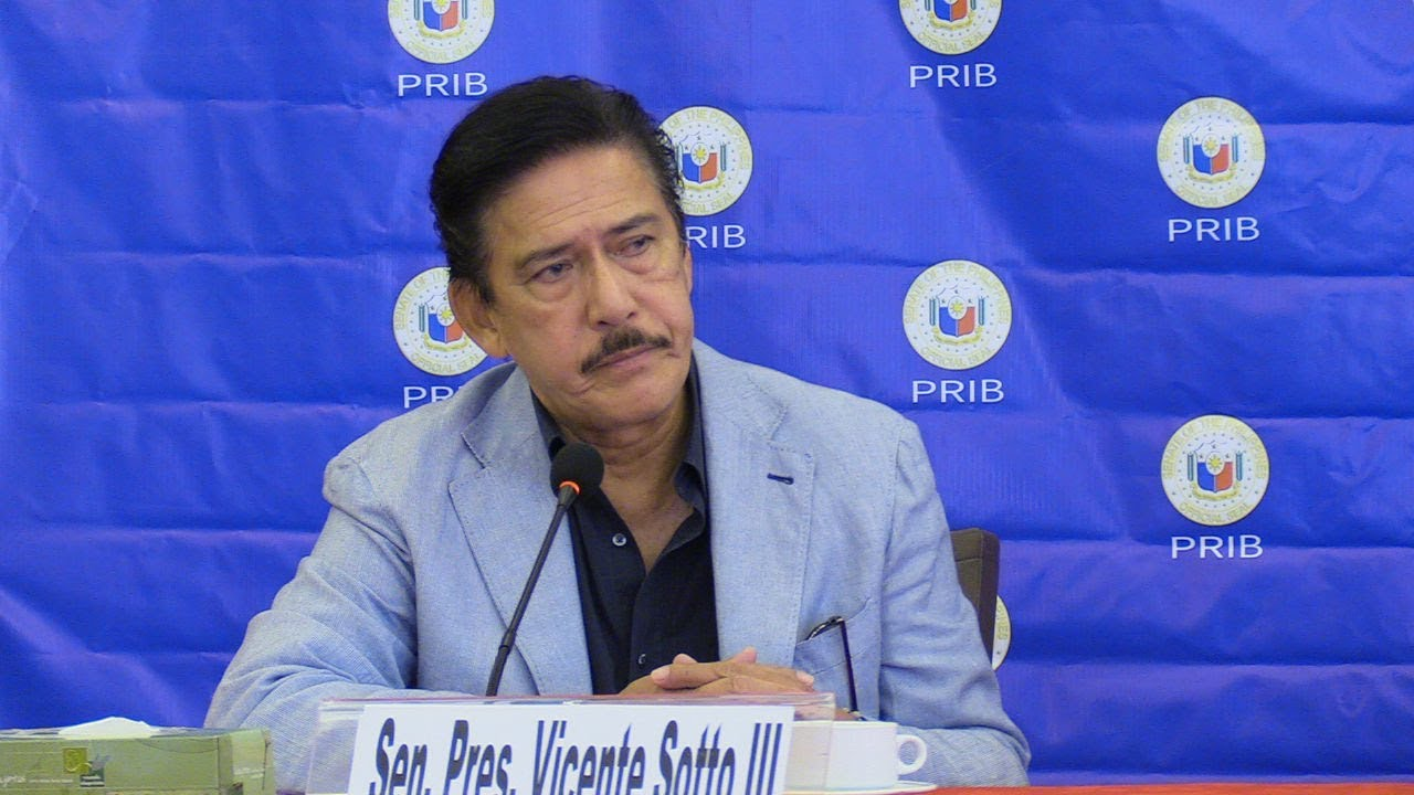 Sotto says he'd focus on job as Senate President than be fazed by critics