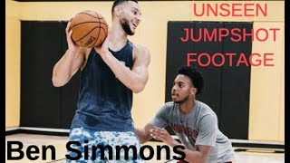 Sixers Ben Simmons - UNSEEN Jump Shot Highlights