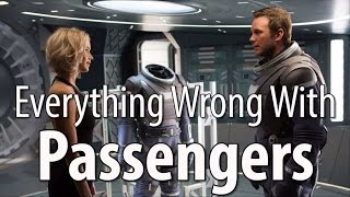 Everything Wrong With Passengers In 16 Minutes Or Less  from CinemaSins