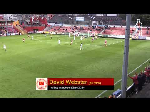 Goal: Dave Webster (vs Bray Wanderers 09/08/2019)