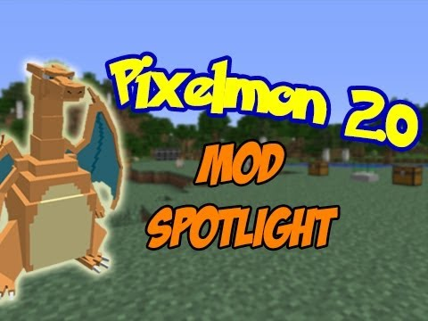 Minecraft Mod Spotlight: Pixelmon 2.0 - Pokemon in Minecraft!!