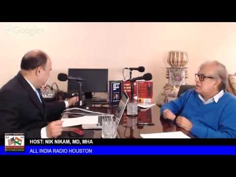 Rajiv Malhotra on East-West Cultural Convergence ALL INDIA RADIO HOUSTON 2014. NIK NIKAM USA