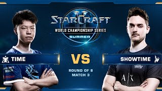 TIME vs ShoWTimE TvP - Quarterfinals - WCS Summer 2019