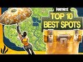 TOP 10 MEILLEURS SPOTS POUR DROP SOLO ! COFFRES CACHÉS ! (Fortnite: Battle Royale) MP3