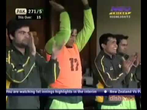 Shahid Afridi Fastest fifty on 19 Balls against New Zealand.flv