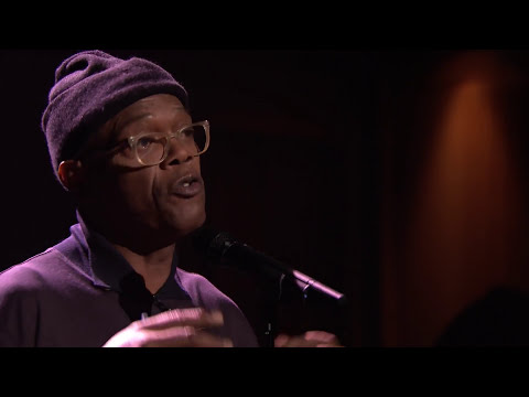 Samuel L. Jackson Performs Slam Poem About