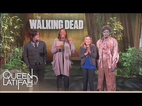 Walking Dead Fan Wins BIG | The Queen Latifah Show