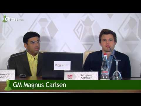 Magnus Carlsen On His Game vs Viswanathan Anand In Shamkir