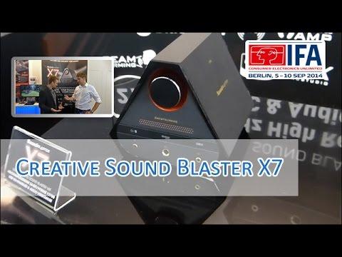 IFA 2014: Creative Sound Blaster X7 im Hands on [German/HD]